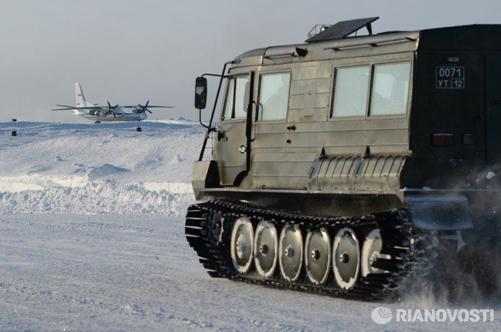 В Арктике начались испытания новых образцов военной техники