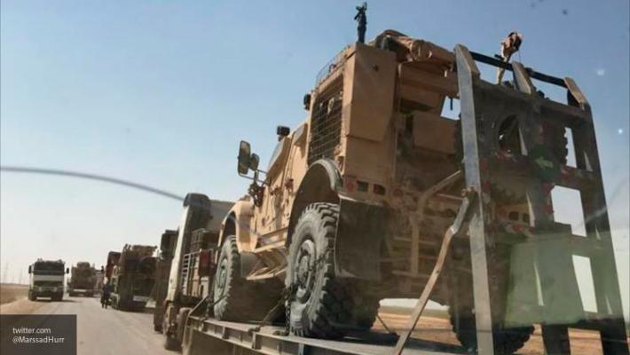Операция в Сирии: СМИ рассказали об огромной колонне военной техники США