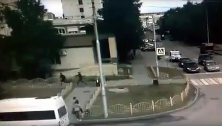 Видео ликвидации преступника, устроившего резню в Сургуте