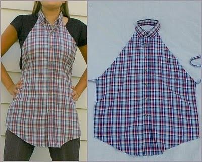 Что можно сделать из рубашки - подборка идей