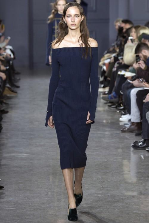 платье Jason Wu, модные тенденции 2017, вязаный подиум 2016, вязаные платья мода (фото 7)