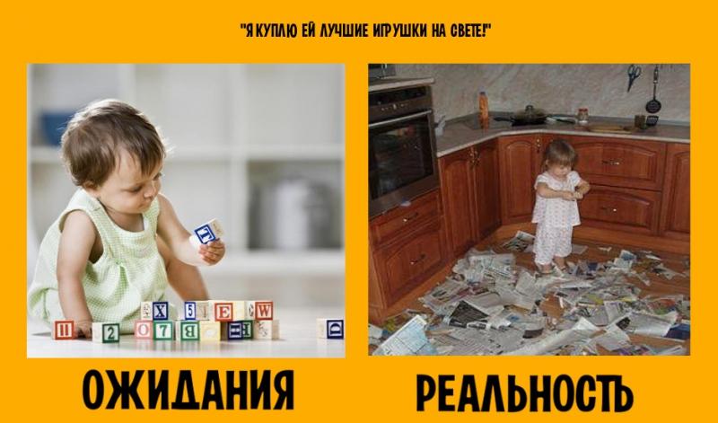 Дети: ожидание и реальность дети, ожидание и реальность, юмор
