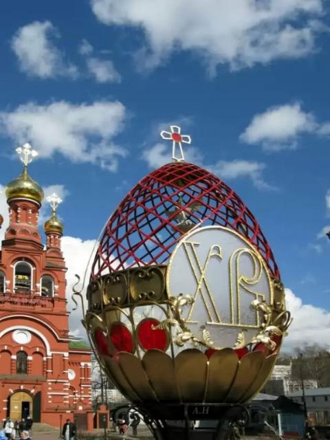 Пасха в Красном Селе. Москва