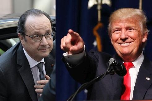Олланд бросает вызов Трампу. Почему это смешно