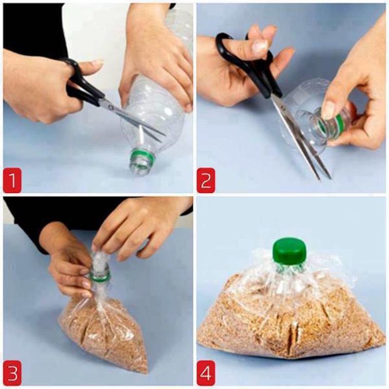 Как сделать шишку из волос с помощью резинки видео