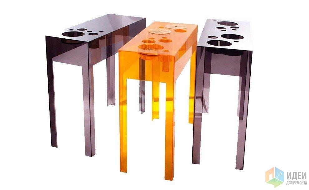 Необычный консольный столик …