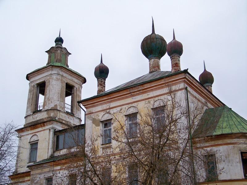 Один из 18 старинных храмов города Города России, Тверская область, красивые места, пейзажи, путешествия, россия, торжок