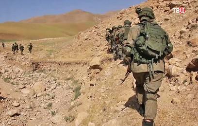 Российский спецназ впервые задействован на учениях ОДКБ в Таджикистане