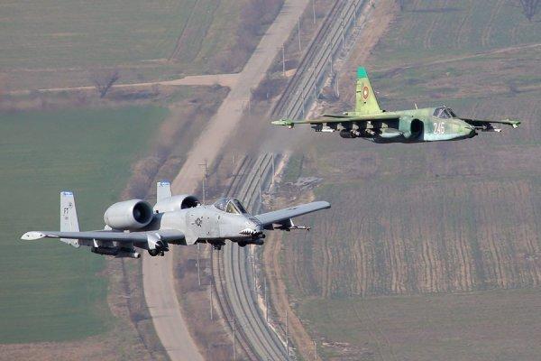 Сравнительный анализ штурмовиков Су-25 и А-10