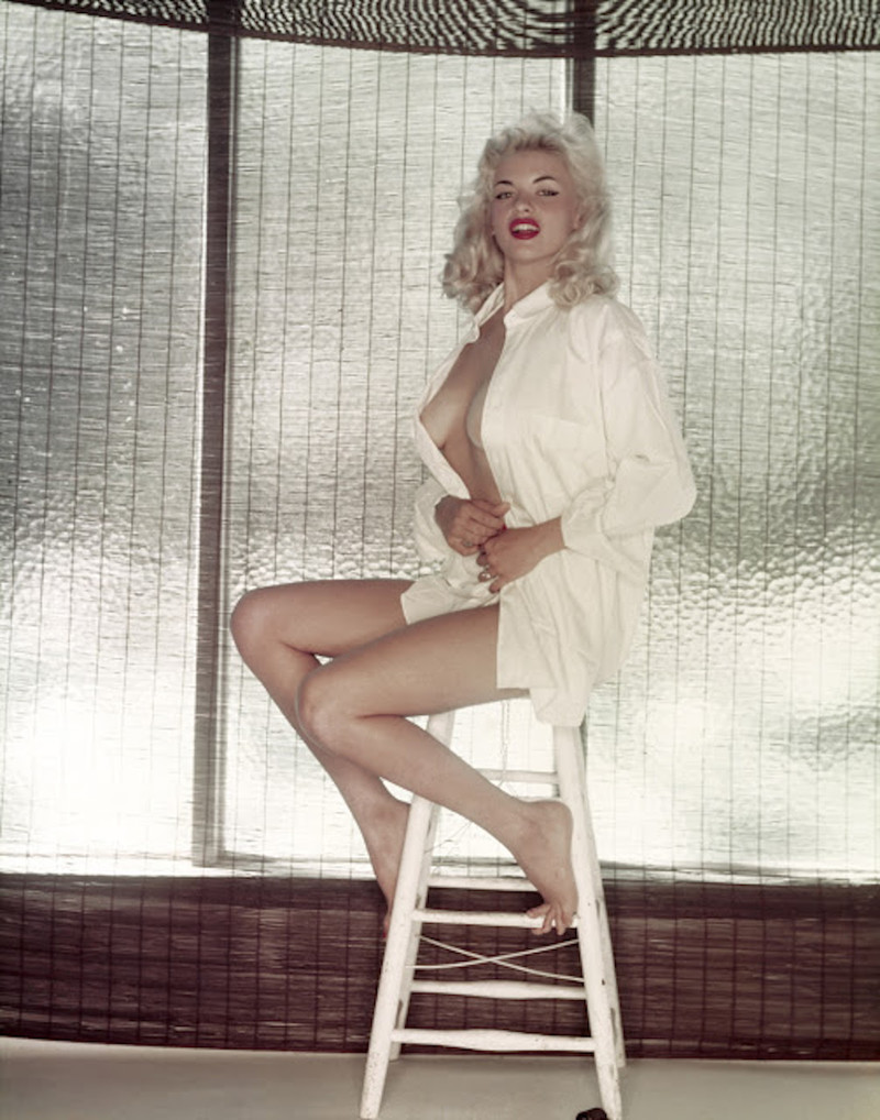 Jayne Mansfield celebrities, playboy, ностальгия