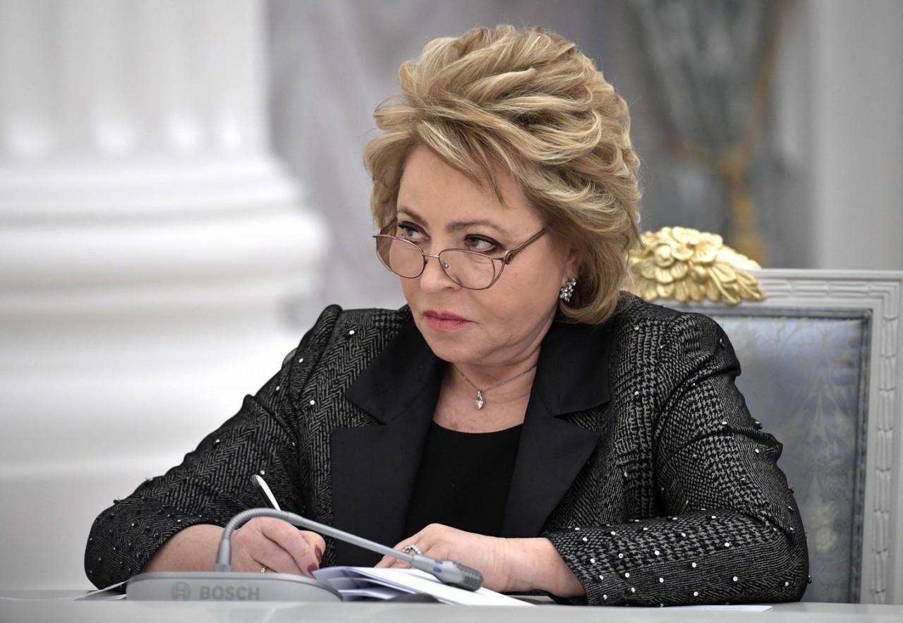 Матвиенко раскритиковала выступление зампостпреда РФ Сафронкова в Совбезе ООН