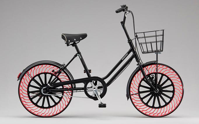 Bridgestone выпустит безвоздушные шины для велосипедов