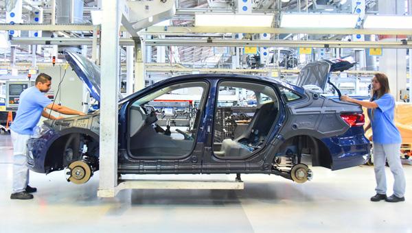Стартовала массовая сборка нового Volkswagen Polo седан