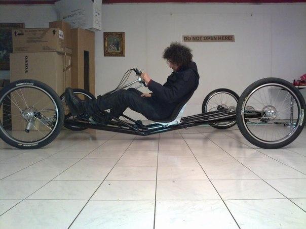 Как сделать четырехколесный велосипед своими руками видео