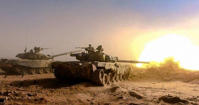Бои под Хамой: американские ракеты TOW-2 «отскакивают» от брони Т-90
