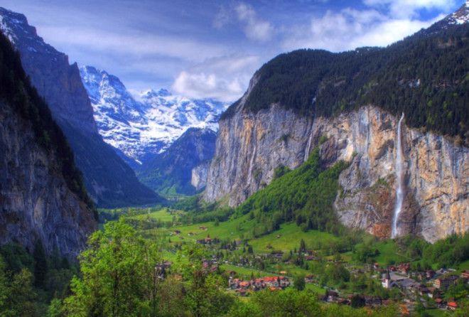 Рай окружённый горами, просто мечта!