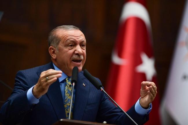 Эрдоган: Поддержав курдов в …