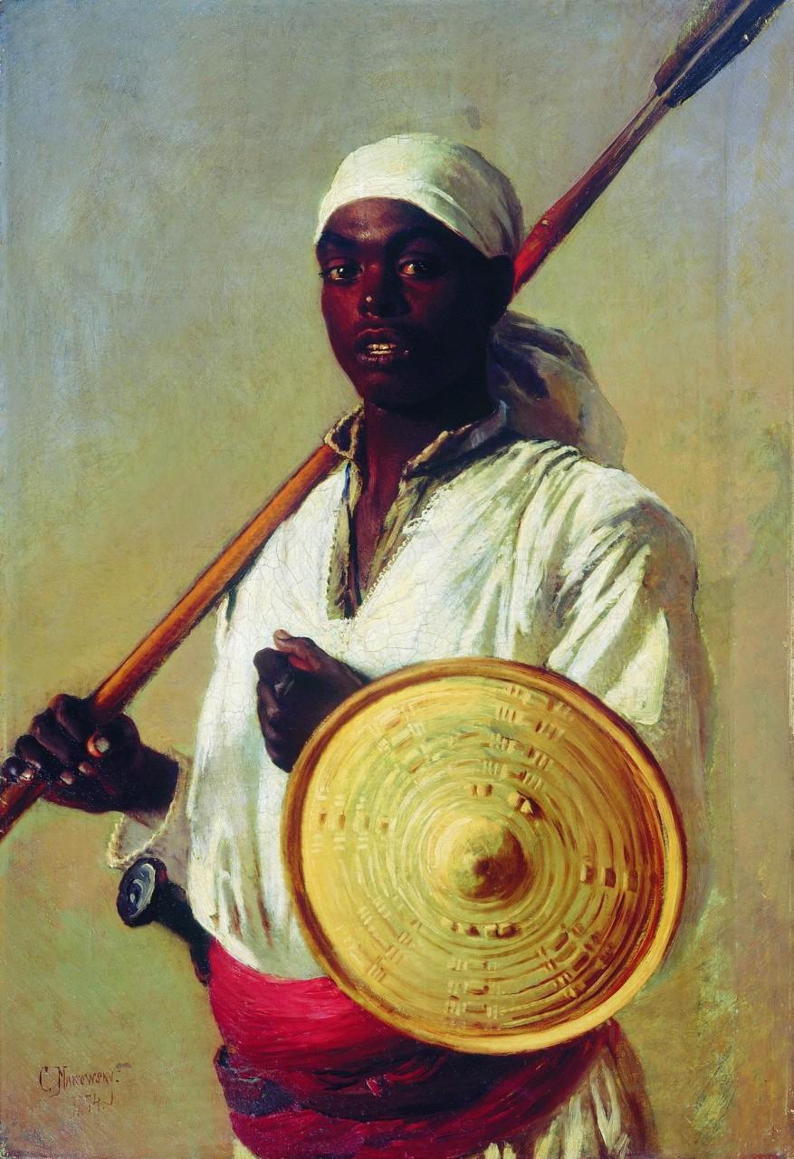 МаковÑкий К.. ЕгипетÑкий воин. 1871