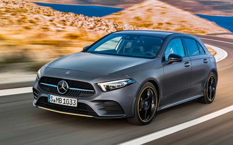 Новый Mercedes-Benz А-класса - первая встреча