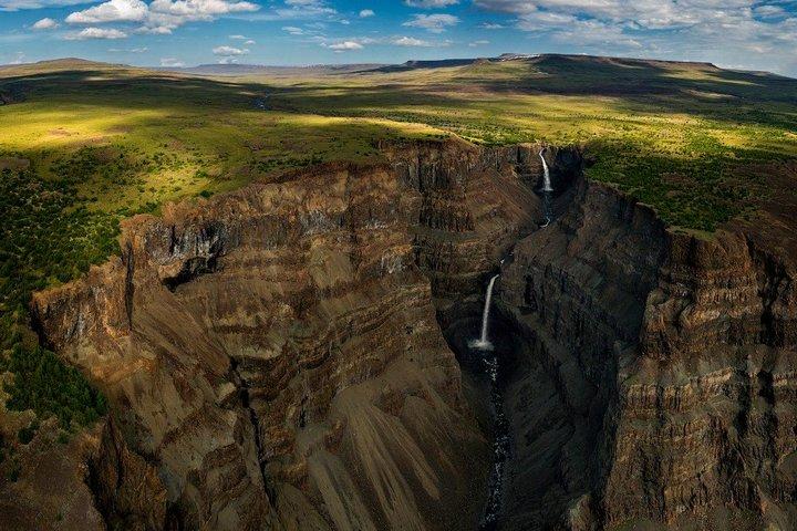 Самый большой водопад в России…
