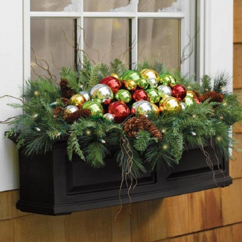 25 идей, которые помогут украсить дом и двор к Новому году, не потратив лишнего