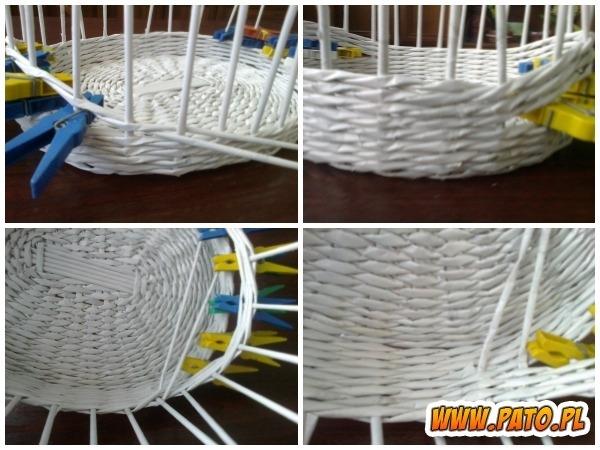Мастер-класс по плетению корзинки из газетных трубочек (3) (600x450, 180Kb)