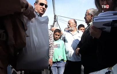 В Восточную Гуту доставили вторую партию гуманитарной помощи