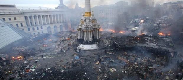 Украинские активисты поделили территорию «развалившейся» России