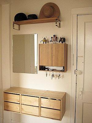 Дизайн маленькой квартиры - прихожая
