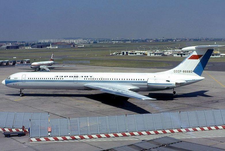 Катастрофа Ил-62 под Москвой