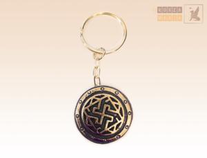 Брелок на ключи, символ валькирия