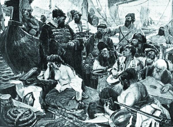Топил ли Стенька Разин перси…