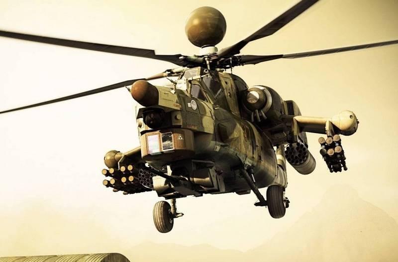 """Новый ударный Ми-28НМ """"Ночной суперохотник"""" отправили в Сирию"""