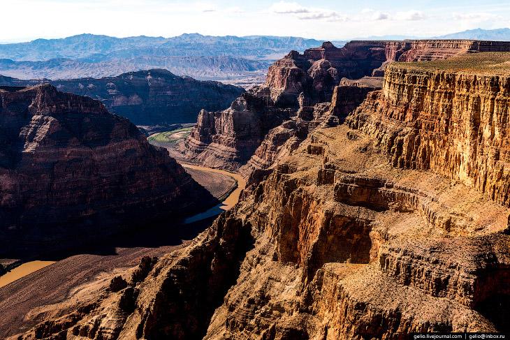 Большой каньон и Лас-Вегас с высоты: чудеса, созданные природой и человеком