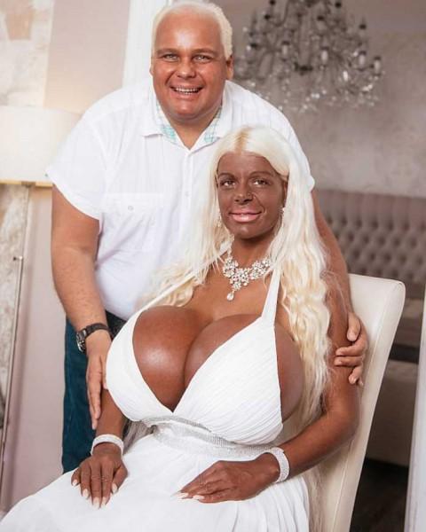 Как выглядит женщина, потратившая на свое тело 60 000 $?