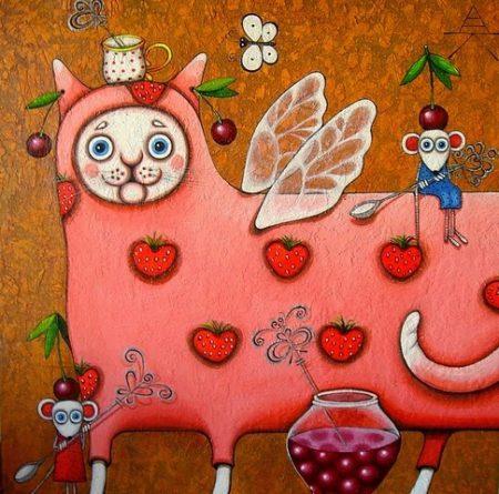 художник Алёна Крутоголова картины - 32