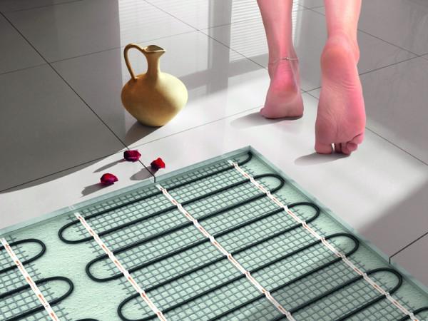 Теплый пол в дом и ванную комнату