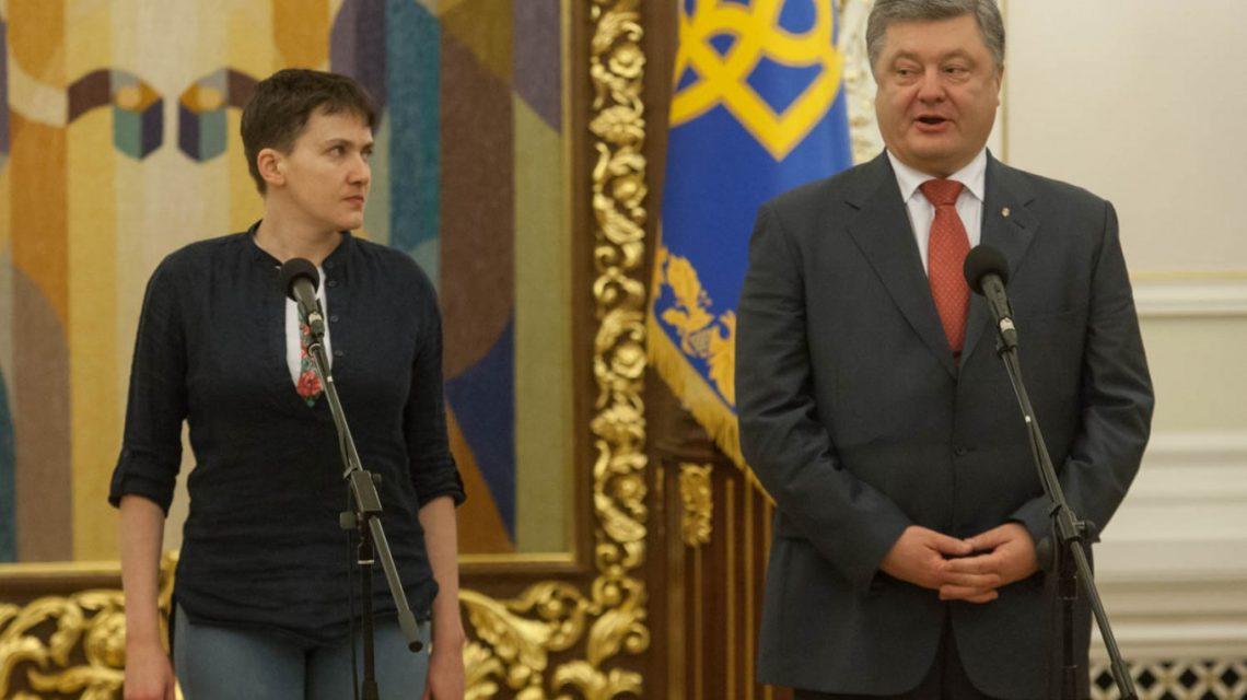 Савченко жестко ответила Порошенко: Лучше бы ты принял закон против себя!