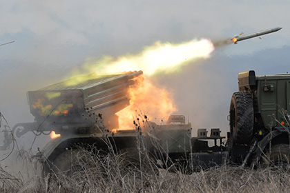 Украинские силовики обстреляли Ясиноватую из «Градов»