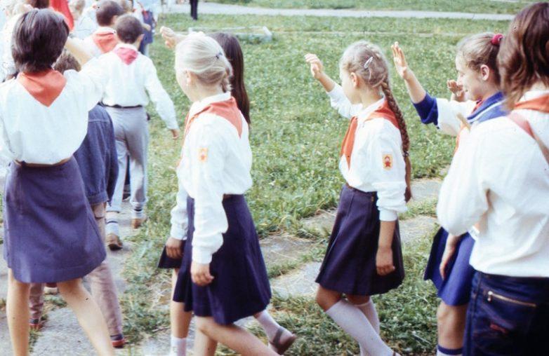 Пионерлагерь нашего детства