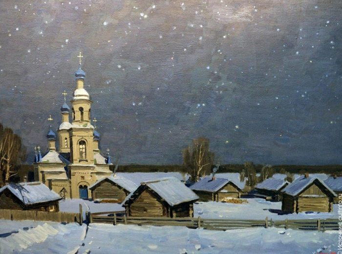 художник Евгений Борисович Молев картины – 12