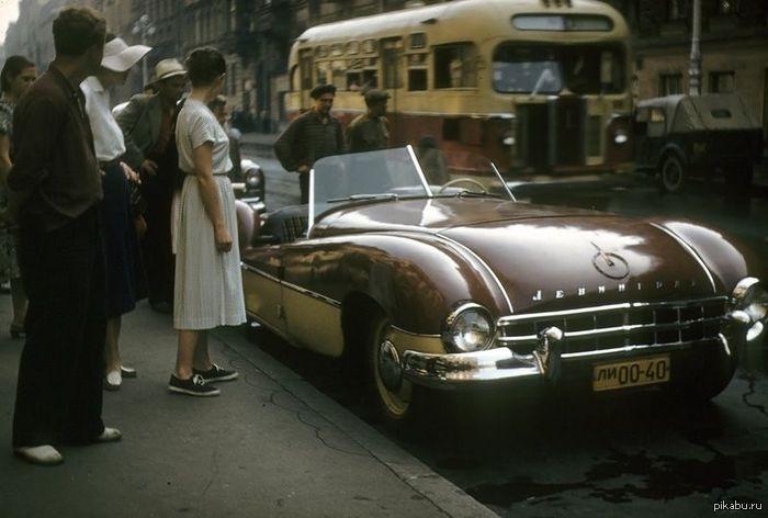 """Кабриолет """"Ленинград"""", ручной сборки. СССР, Ленинград, 1950-е"""