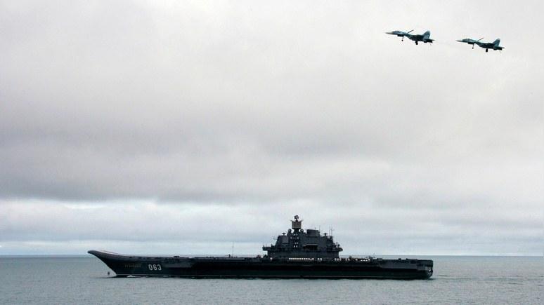СМИ США: «Адмиралу Кузнецову» место на свалке, а не в Средиземном море