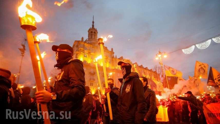 Почему Запад не видит возрождения нацизма на Украине