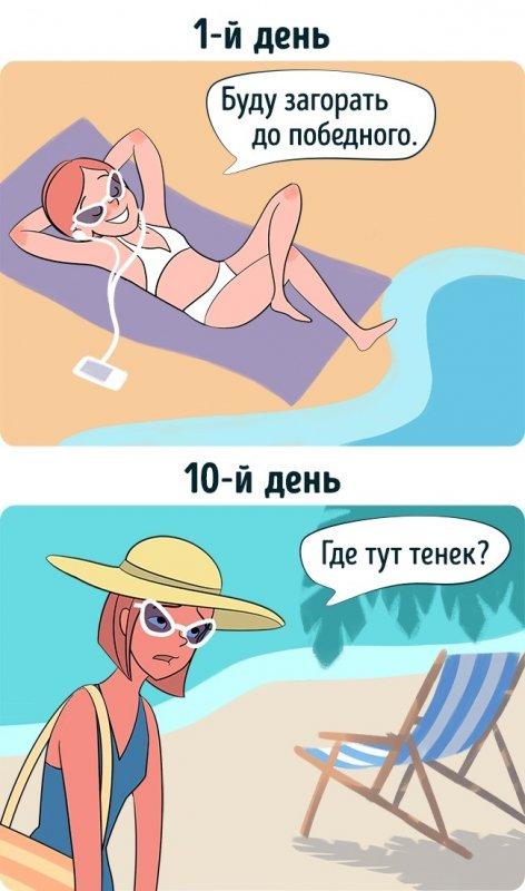 Комикс про туристов