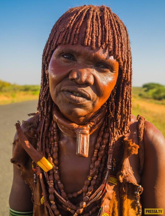 Жгучие красотки из племён южных районов Эфиопии
