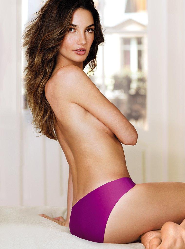 Безупречная Лили Олдридж  в фотосессии для Victoria`s Secret