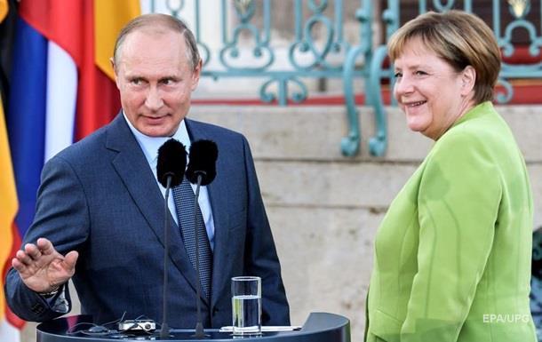 Меркель слила Украину Путину