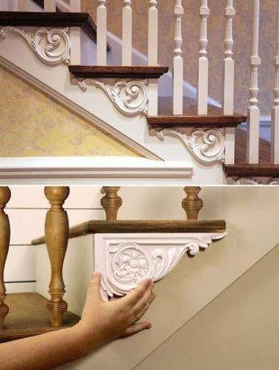 Отделка лепниной- фото декоративных решений в интерьере