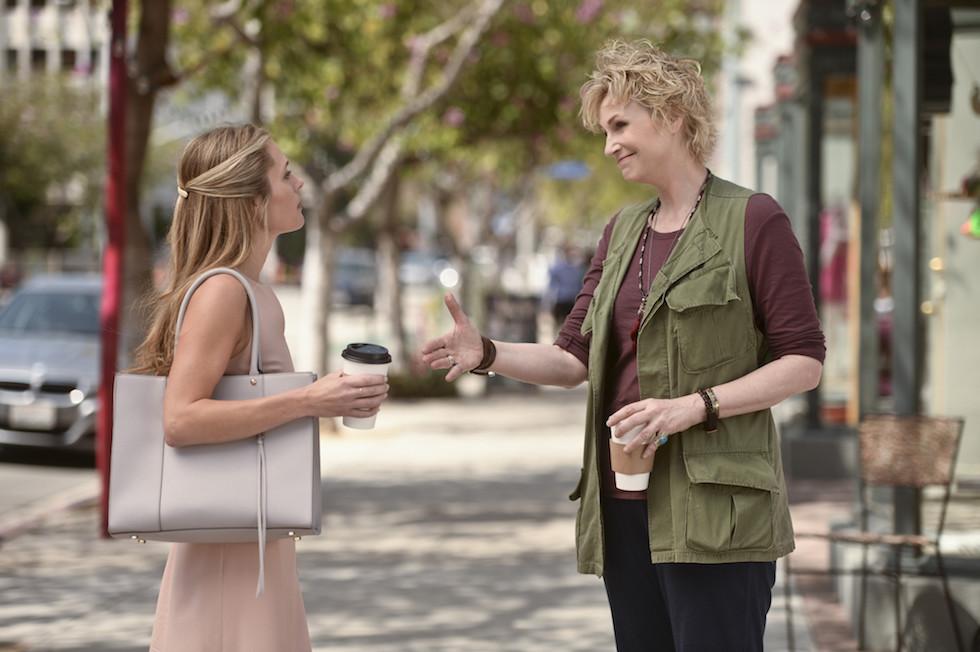 """Angel From Hell Prima stagione (7 gennaio, CBS) È una """"single-camera sitcom la cui protagonista è Jane Lynch, che interpreta un bizzarro angelo con l'incarico di proteggere una dermatologa, interpretata da Maggie Lawson."""